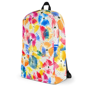 COLORQUEEN Floral Fanfare Backpack