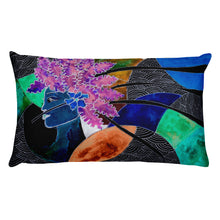 COLORQUEEN Galaxy Girl Pillow