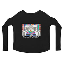 COLORQUEEN Multitudes Ladies' Long Sleeve Tee