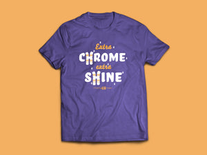 Extra Chrome Tee - Adult
