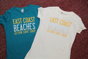 East Coast Beaches T-shirt