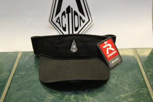 Black Action Diamond Visor
