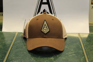 Brown Action Diamond Hat