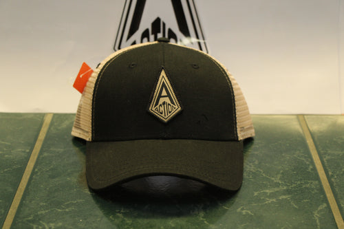Black Action Diamond Hat