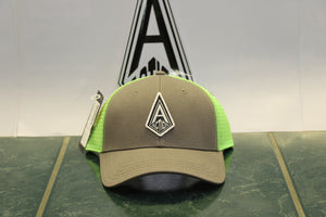 Gray Action Diamond Hat