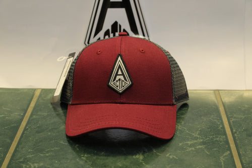 Burgundy Action Diamond Hat