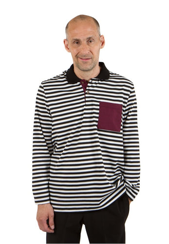 Adaptive Striped Polo Shirt