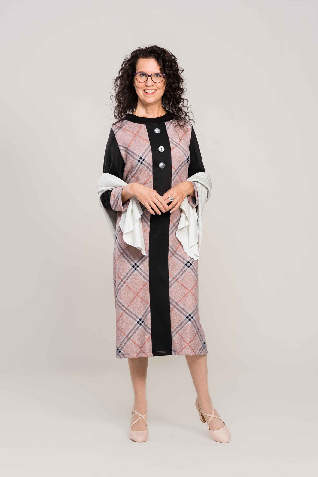 Adaptive Dress Coat Style Dress