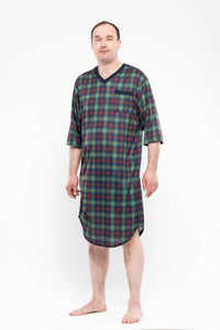 Adaptive 3/4 Sleeve Nightshirt