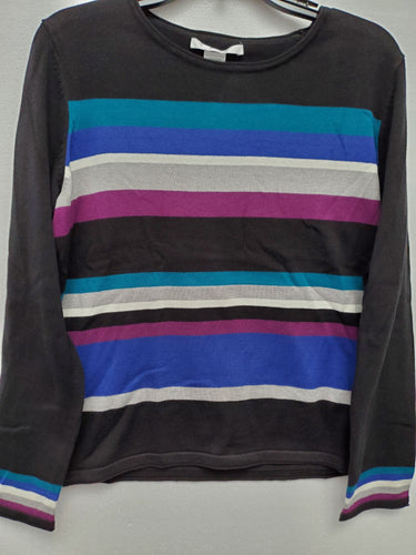 Multi-Colour Striped Sweater