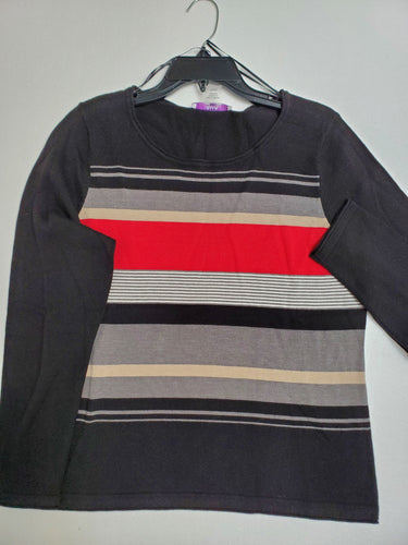 Black Multi-Colour Sweater