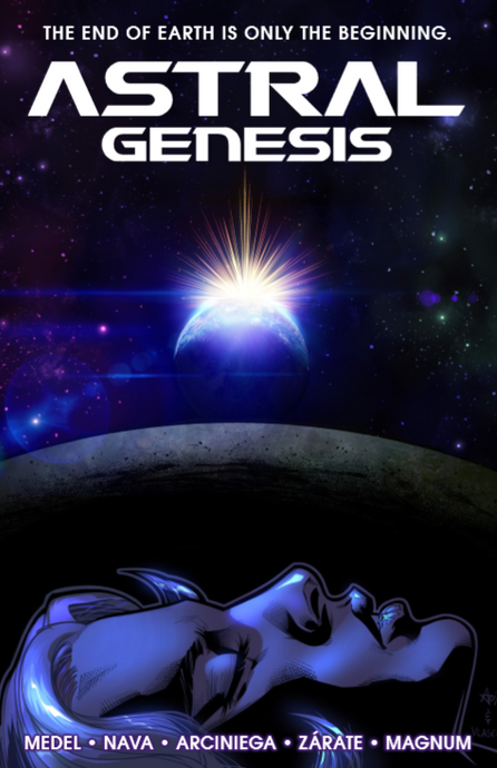 *[AUTOGRAPHED] Astral Genesis (softcover) - Signed by series creator, Jay Magnum