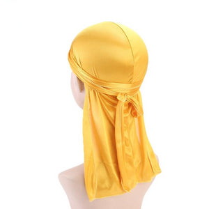 Yellow Silk Durag