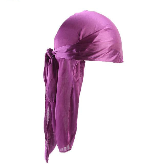 Purple Silk Durag