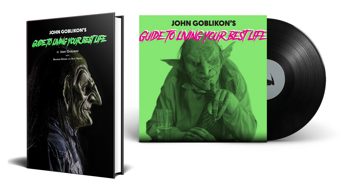 John Goblikon's Guide to Living Your Best Life Signed Limited Edition Vinyl Audiobook Bundle [Signed]