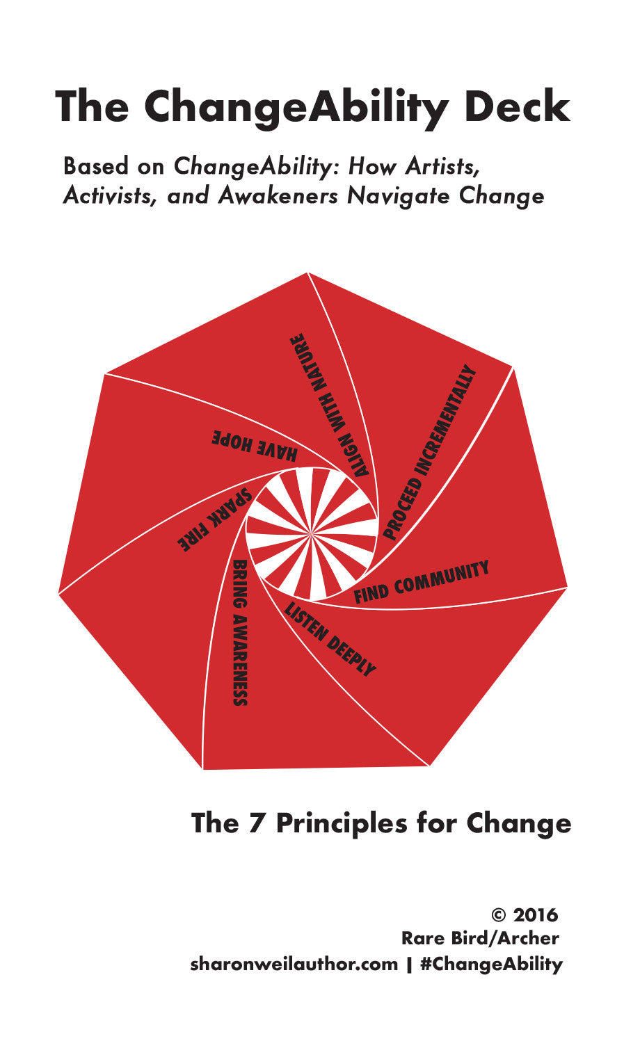 The ChangeAbility Deck: The 7 Principles for Change