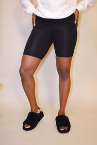 High-Rise Biking Tights (Black)
