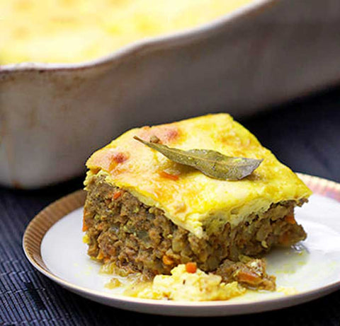 South African Bobotie Pie