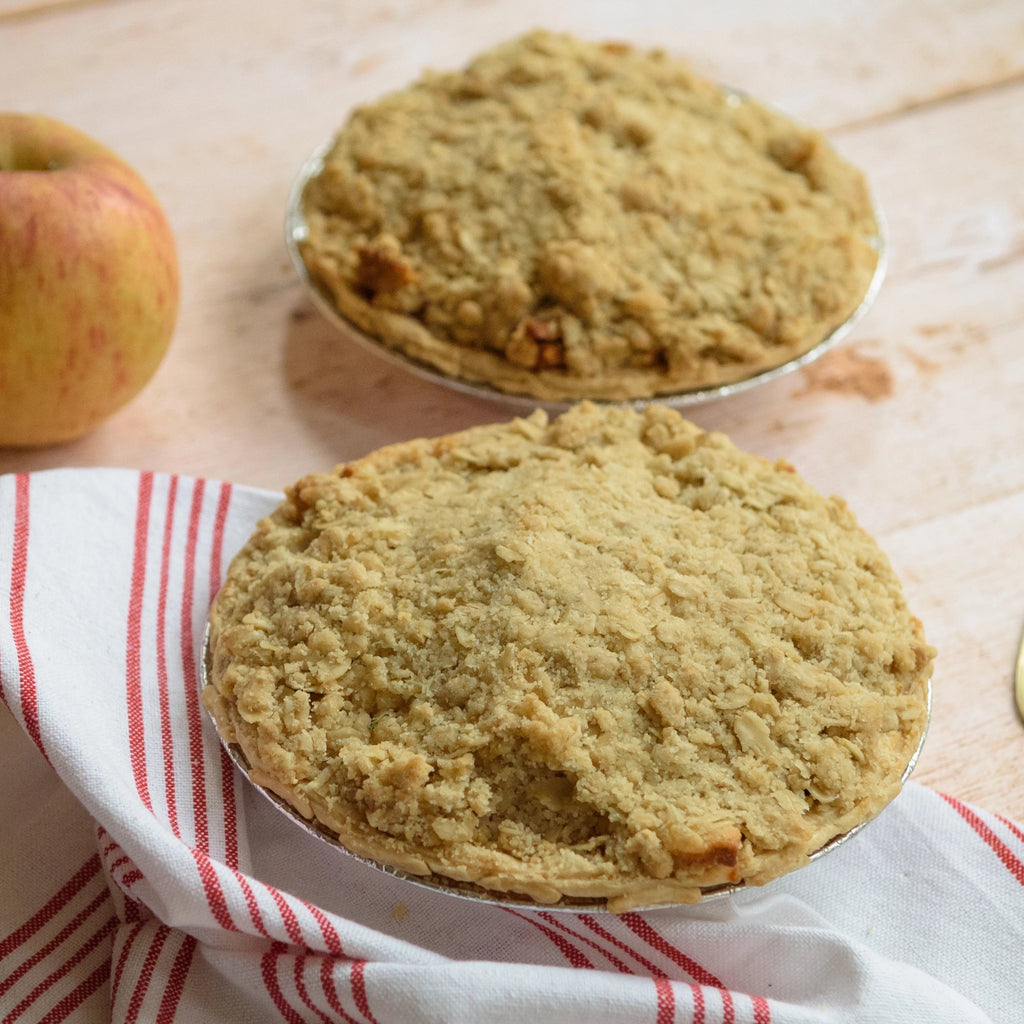 Christmas Apple Crumble
