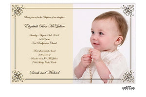 Baptism & Christening Invitations-Invitations-The Write Choice