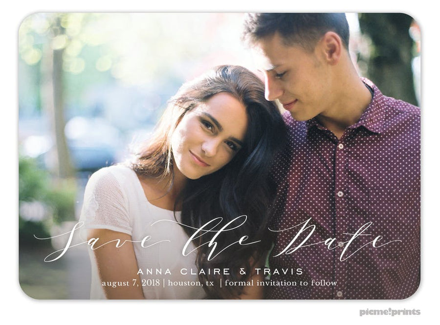 Save the Date Invitations-Invitations-The Write Choice
