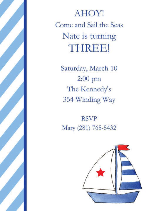 Kid Birthday Invitations-Invitations-The Write Choice