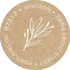 Return Address Labels-Return Address Label-The Write Choice