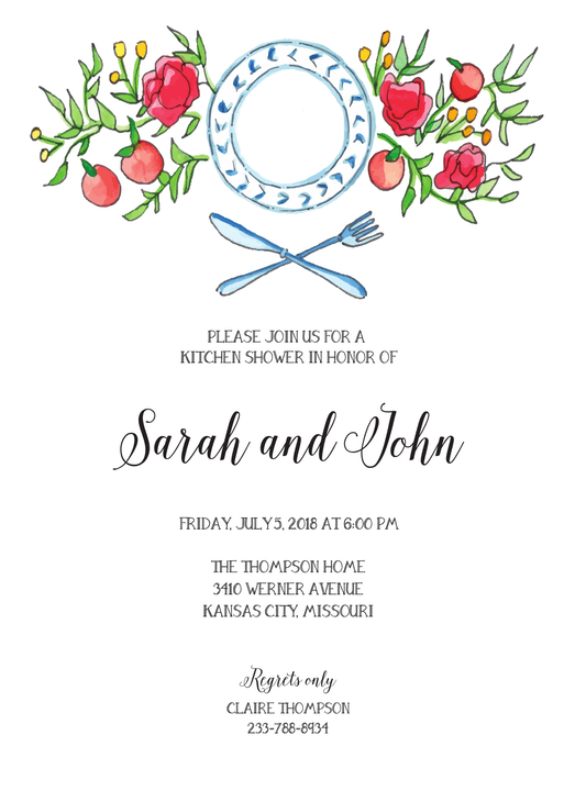 Couples Shower Invitations-Invitations-The Write Choice