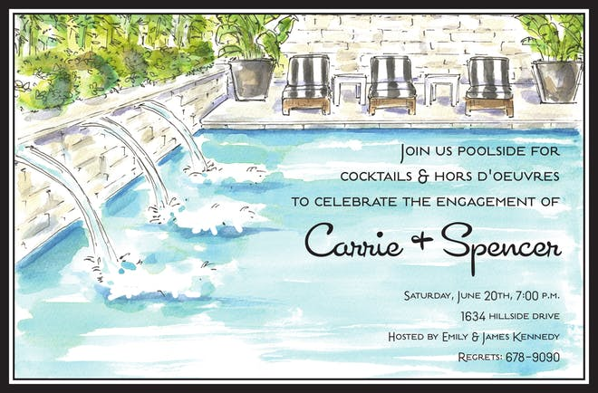 Summer Party Invitations-Invitations-The Write Choice