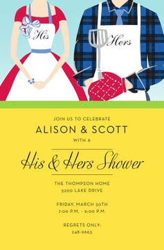 Bridal Party and Shower Invitations-Invitations-The Write Choice