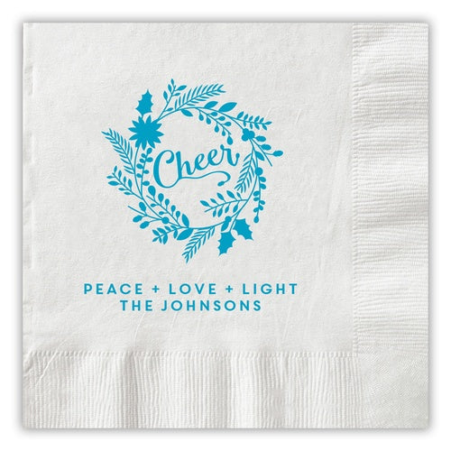 Letter Pressed Napkins-Napkins-The Write Choice