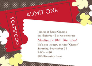 Tween to Sweet 16 Birthday Invitations-Stationery-The Write Choice