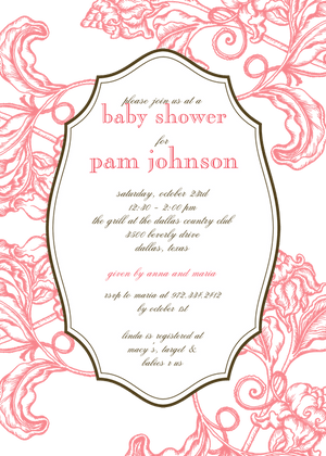 Gender Neutral Baby Shower Invitation The Write Choice