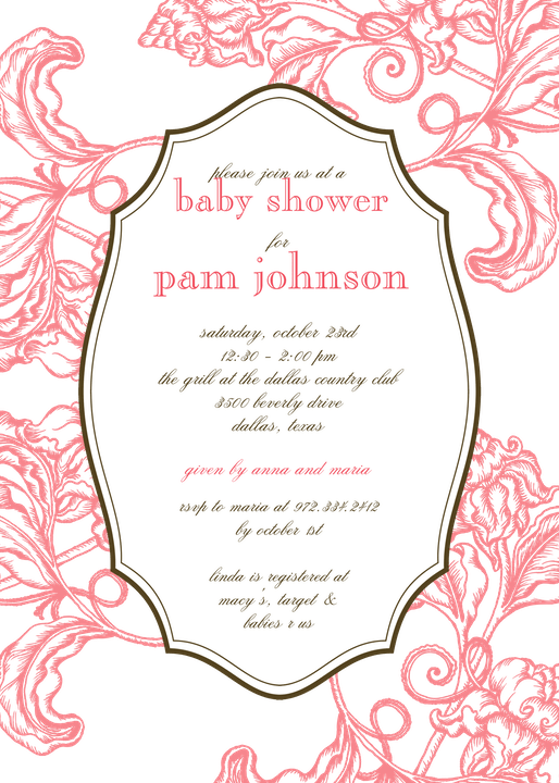 Gender Neutral Baby Shower Invitation-Invitations-The Write Choice