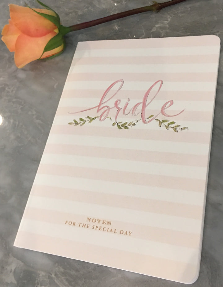 Bride Notebook-Notepad-The Write Choice
