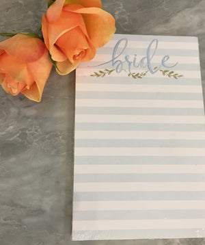 Bride Notepad-Notepad-The Write Choice