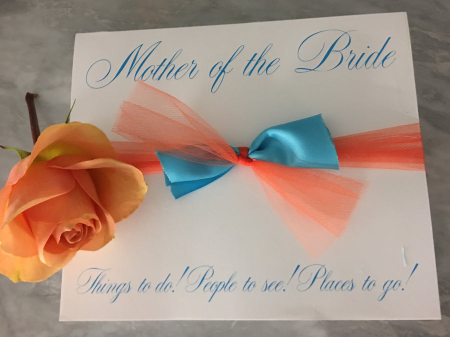 Mother of the Bride Super Slab-Notepad-The Write Choice