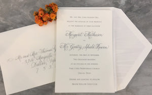 Wedding Invitations-Invitations-The Write Choice