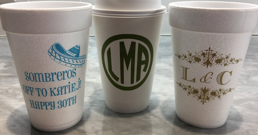 Styrofoam and Paper Cups-Cups-The Write Choice