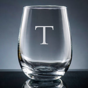 Sencillo Stemless Wine Glass-Wine Glass-The Write Choice