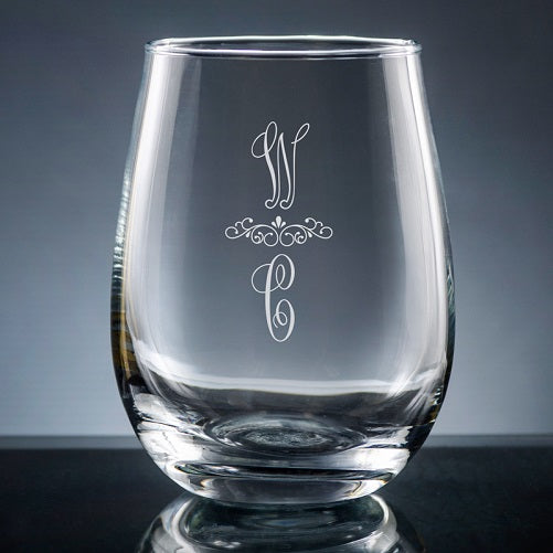 Pareja Stemless Wine Glass-Wine Glass-The Write Choice