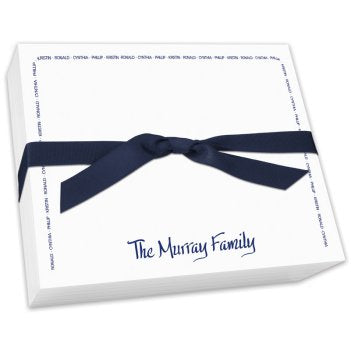 Family Arch Super Slab-Notepad-The Write Choice