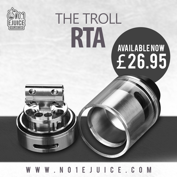 Sale - Lolly Vape | Anarchist | ANML | Modus Vapors | New arrival - The Troll RTA | Bromley & Orpington stores Late Night Today