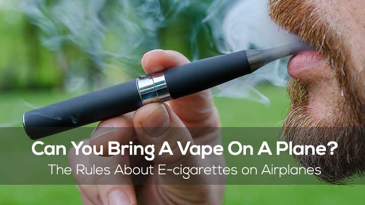 Vaping on Airplanes