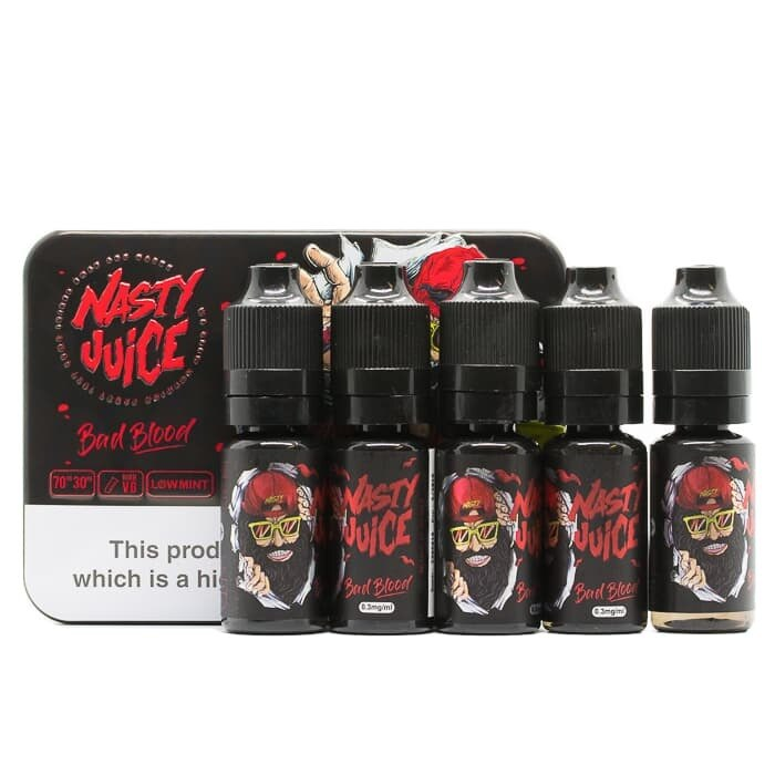Bad Blood E-Liquid by Nasty Juice - 5x10ml