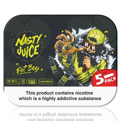 Fat Boy E-Liquid by Nasty Juice - 5x10ml