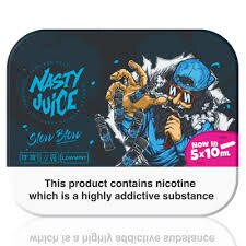 Slow Blow E-Liquid by Nasty Juice - 5x10ml