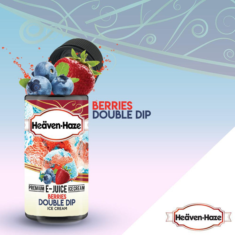 Berries Double Dip by Heaven Haze 100ml