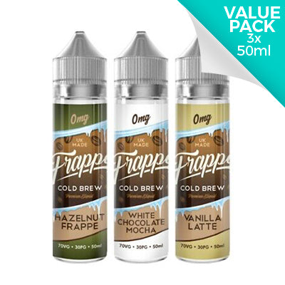 Frappe Value Pack Any 3x50ml for £20