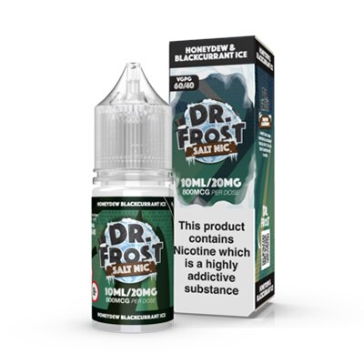 Honeydew Blackcurrant ICE Nic Salt by Dr Frost - 10ml 20mg